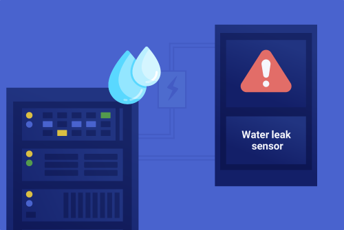Water leakage detection sensor network