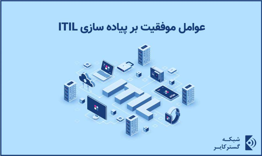 عوامل موفقیت بر پیاده سازی ITIL