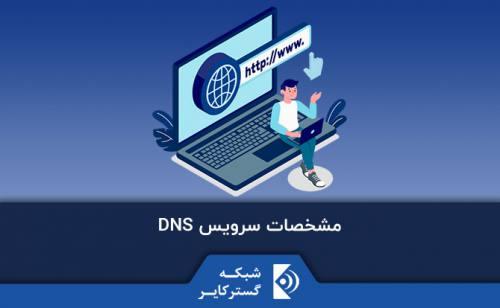 مشخصات سرویس DNS